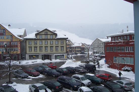 Romantik Hotel Säntis: view from the room