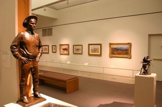 Buffalo Bill Historical Center : Bronze of Charles Russell