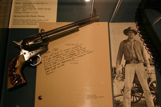 Buffalo Bill Historical Center : Marshall Dillon's Pistol