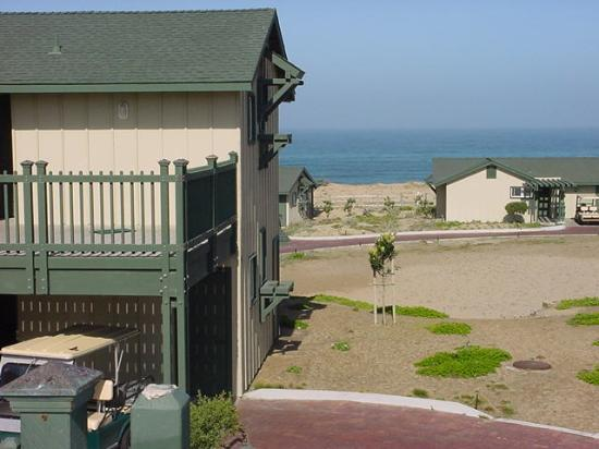 """Marina, CA: This is one of their """"Ocean View"""" rooms . . . bring your glasses is my advice."""
