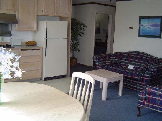 Soldotna Inn : my cousin's room, he had an apartment