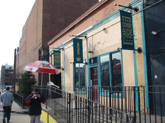 Other Side Cafe: Cafe entrance off Mass Ave.