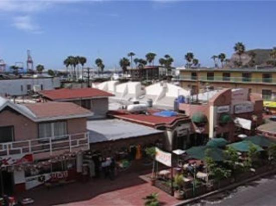 Best Western El Cid: another look from the balcony