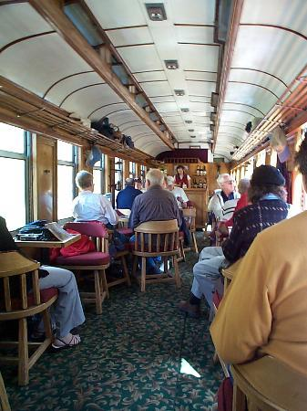 parlor car interior picture of durango and silverton narrow gauge railroad and museum durango. Black Bedroom Furniture Sets. Home Design Ideas