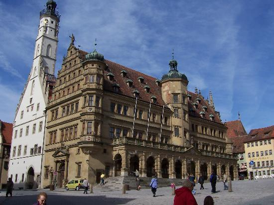 Rothenburg Town Hall (Rathaus): Rathaus (photo taken in late winter 2005)