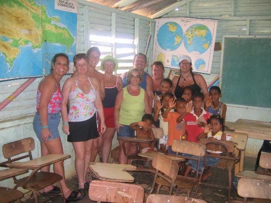 Grand Bahia Principe San Juan: safari bunch and the little children