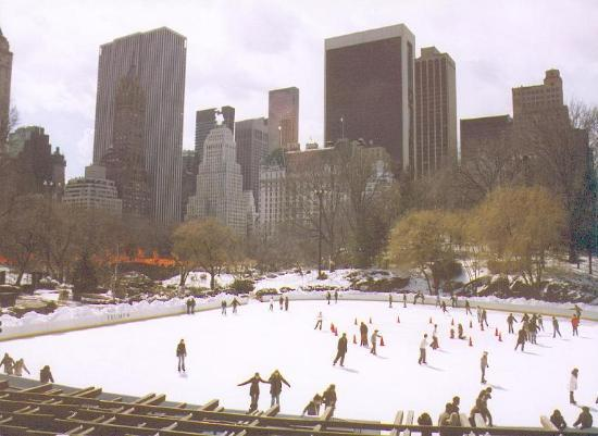 Central Park : Ice Skating at the Wollman Rink