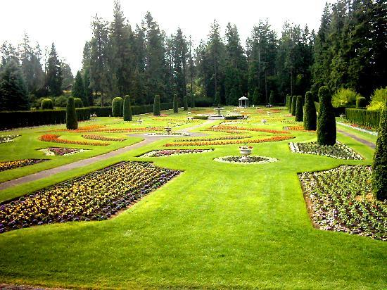 Spokane, Etat de Washington : European Gardens