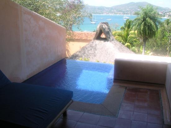 "Hotel Casa Don Francisco: Our ""el-Dorado"" suite has a private pool."