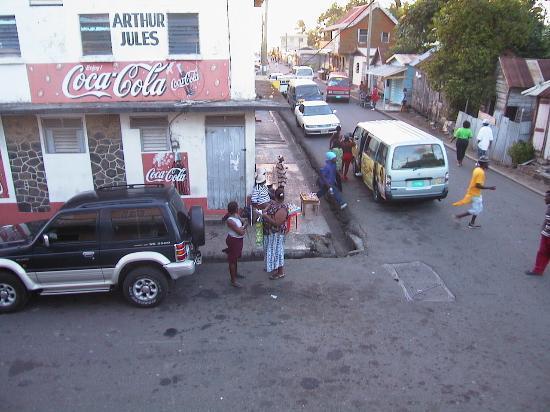 كاستريس, سانت لوسيا: minivan service