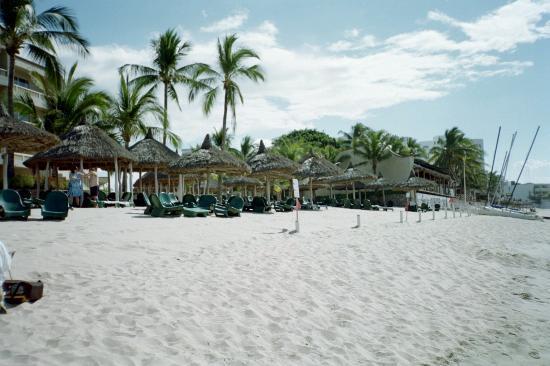 Beach area at Hotel Playa Mazatlan