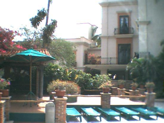 Pool Area at Hotel Playa Mazatlan