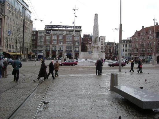 Dam square picture of radisson blu hotel amsterdam for Hotel amsterdam economici piazza dam