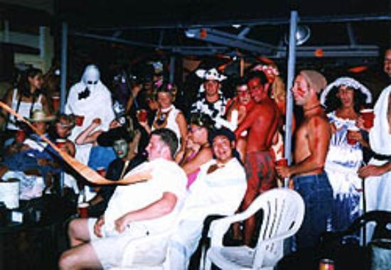 Seaside Hawaiian Hostel: Halloween Partyers