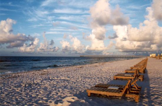 Pensacola, Floride : Beach In Front of Best Western