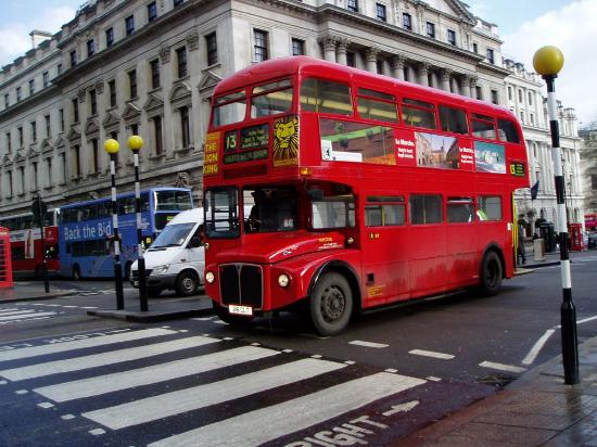 Londres, UK: Doubledecker on Regent Street