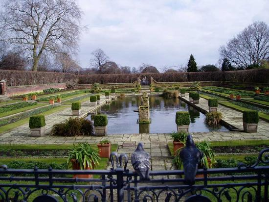 Londres, UK: Kensington Gardens