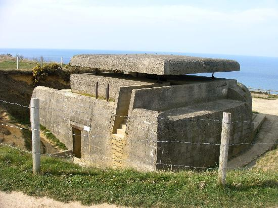 Bayeux, Frankrig: German Fortification