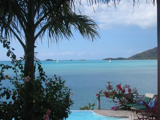 Cocobay Resort: another view out to sea from the hotel