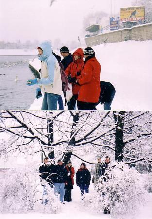 Novotel Krakow Centrum : Volta riverside opposite the hotel Dec 30th 2004