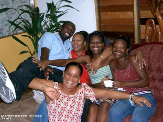 The Gardenia Resort : Daniel Beach Staff