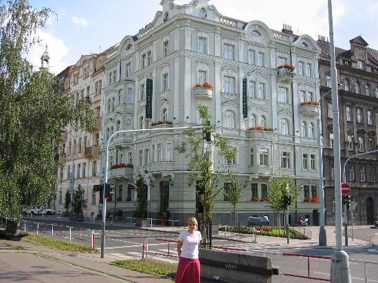 Mamaison Riverside Hotel Prague: Hotel frontage