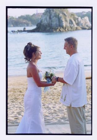 Dreams Huatulco Resort & Spa: Perfect wedding setting