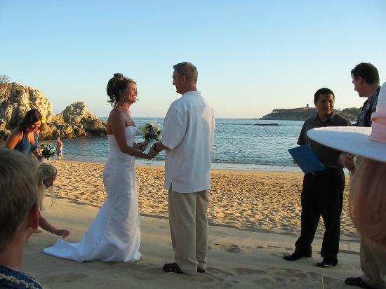 Dreams Huatulco Resort & Spa : Wedding Vows