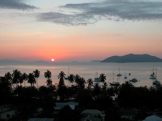 Cane Garden Bay: Sunset From Agape Cottages