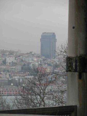The Ritz-Carlton, Istanbul: View from Sulieman mosque- Ritz carlton the magnificent