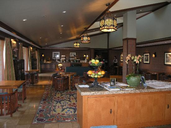 Disney's Grand Californian Hotel & Spa: club lounge
