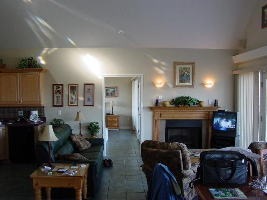 Eagle's Nest at Capodimonte: Chalet living area