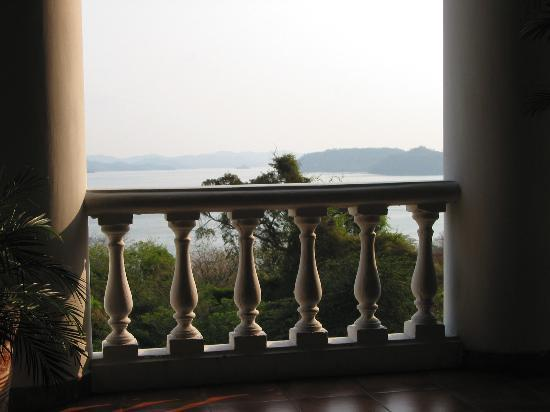 Allegro Papagayo: View of bay from reception bar