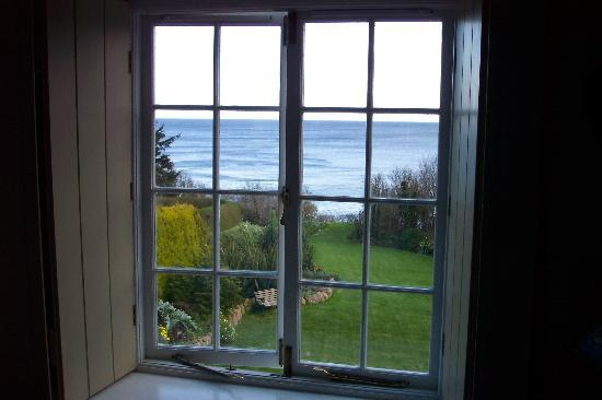 Cove Cottage: One of the views from the bedroom window