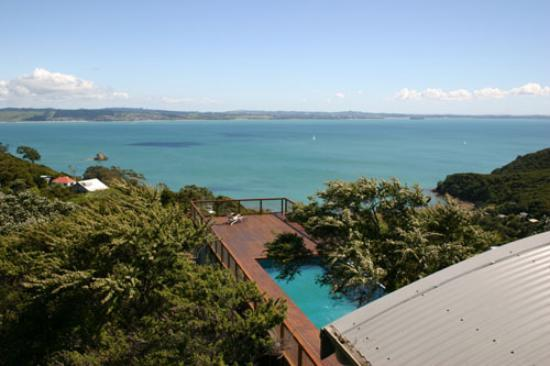 Glass House: Yet another glorious view from our suite