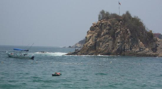 Dreams Huatulco Resort & Spa : Island view