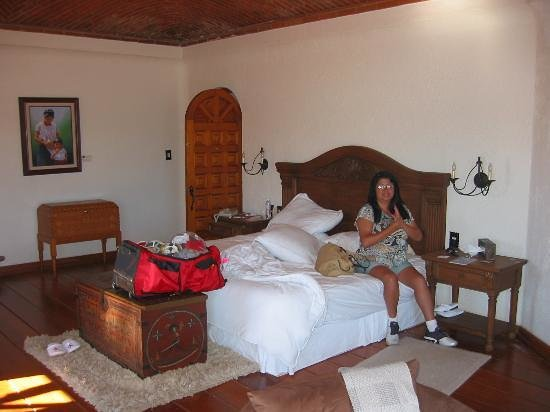 Mision Boutique Casa Colorada: Teresa relaxing in the Presidential Suite