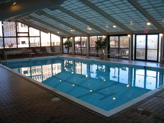 Tower Square Hotel Springfield Indoor Pool On 6th Floor