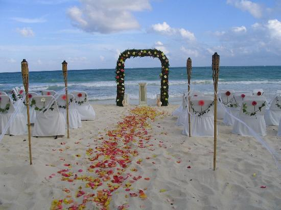 Iberostar Paraiso Beach Flowers Add Wedding Location