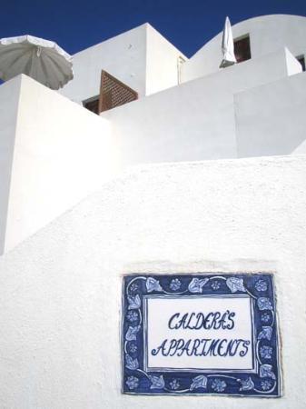 Caldera Apartments-Imerovigli, Santorini