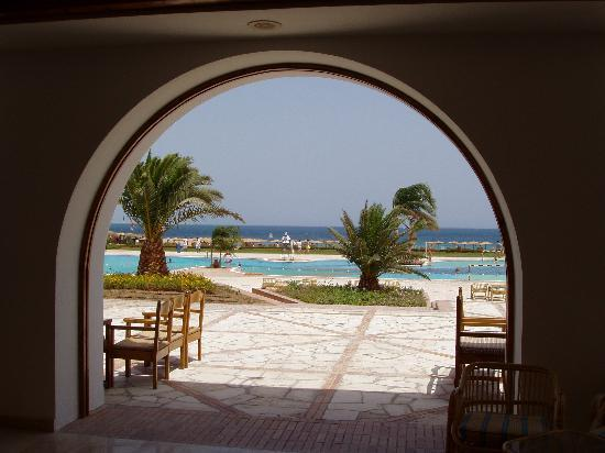 Mercure Hurghada Hotel: View from the lounge
