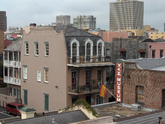 Dauphine Orleans Hotel: View from our window