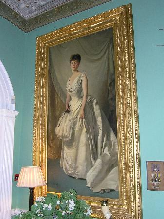 Portrait of a Lady in Glin Castle