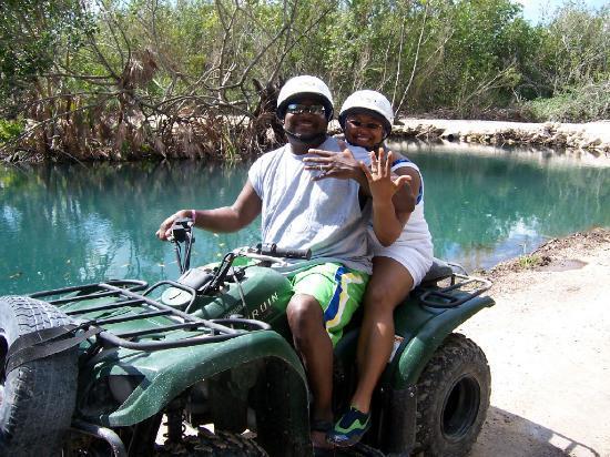 Moon Palace Cancun: ATV Jungle Tour