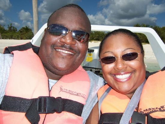 Moon Palace Cancun: Speed Boat Tour