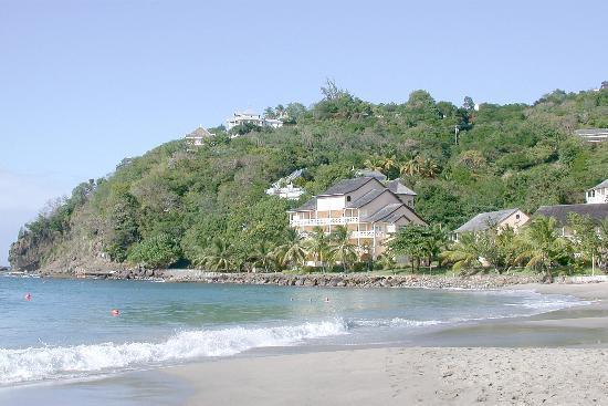 BodyHoliday Saint Lucia: The beach
