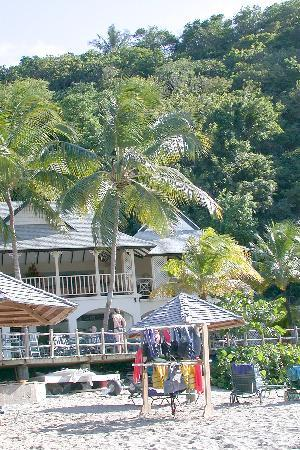 BodyHoliday Saint Lucia: Beach and beach snack bar