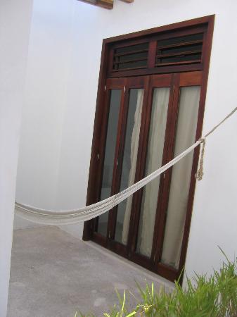 Hotel Latino: Our private patio