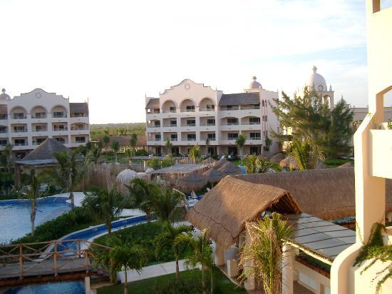 Excellence Riviera Cancun : Spa view