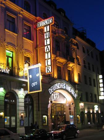Hotel Deutsches Theater Stadtmitte: Schwanthalerstrasse 15. Theater and hotel.